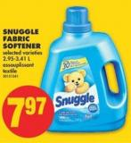Snuggle Fabric Softener - 2.95-3.41 L