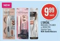 L'oréal Mascara - Eyeliner or Brow Pen