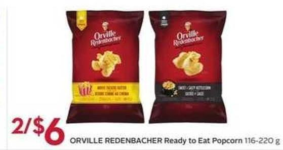 Orville Redenbacher Ready To Eat Popcorn 116 - 220 g