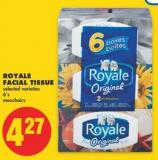Royale Facial Tissue - 6's