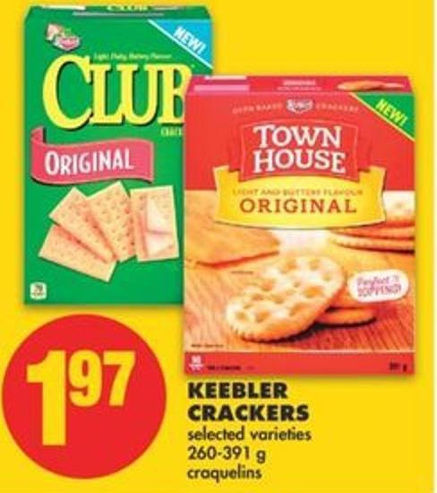 Keebler Crackers - 260-391 G