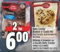 Betty Crocker Brownie Or Cookie Mix