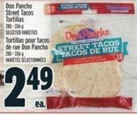 Don Pancho Street Tacos Tortillas 280 - 336 G