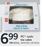 PC Rustic Tea Cakes - 580-610 g