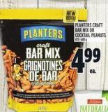 Planters Craft Bar Mix Or Cocktail Peanuts 475 - 600 g