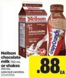 Neilson Chocolate Milk - 750 Ml Or Shakes - 310 Ml
