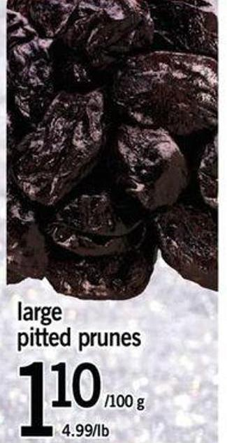 Large Pitted Prunes
