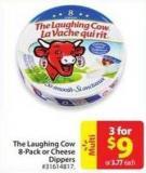 The Laughing Cow 8-pack or Cheese Dippers