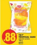 T&t Tropical Cake - 180 G