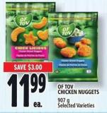 Of Tov Chicken Nuggets 907 g