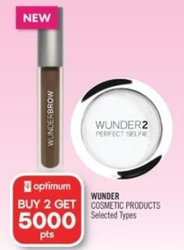 Wunder Cosmetic Products