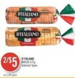 D'italiano Bread 675g