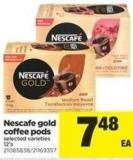 Nescafé Gold Coffee PODS