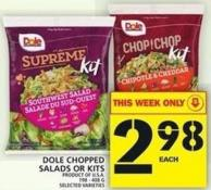 Dole Chopped Salads Or Kits