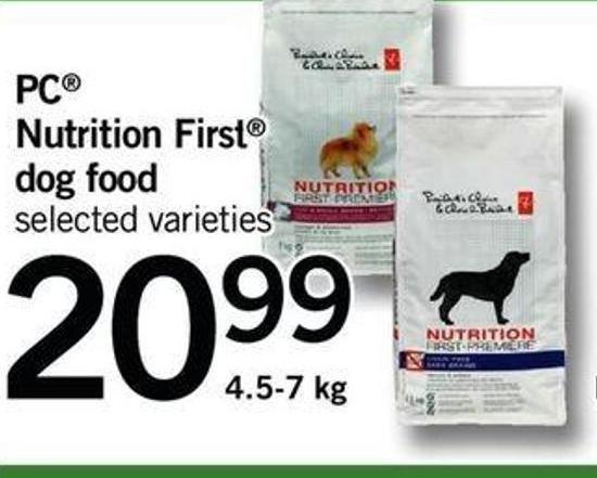 PC Nutrition First Dog Food - 4.5-7 Kg