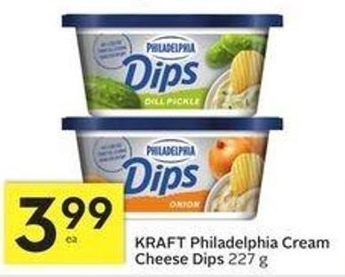 Kraft Philadelphia Cream Cheese Dips