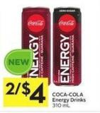 Coca-cola Energy Drinks 310 mL