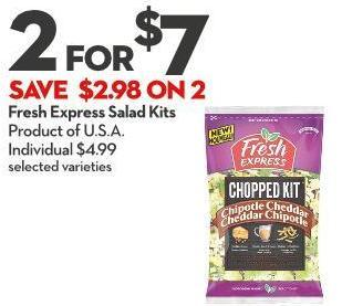 Fresh Express Salad Kits