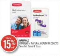 Wampole Vitamins or Natural Health Products