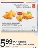PC Vegetable Or Chicken Mini Samosa - 345 G