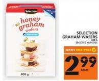 Selection Graham Wafers