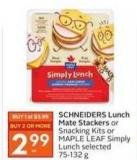 Schneiders Lunch Mate Stackers