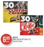Nestlé Mini Chocolate Bars 30's
