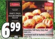 Irresistibles Puff Pastry Party Pack