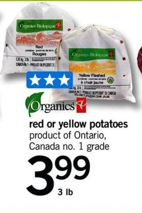 Red Or Yellow Potatoes - 3 Lb
