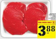 Sirloin Tip Family Pack Steak
