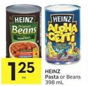 Heinz Pasta or Beans 398 mL