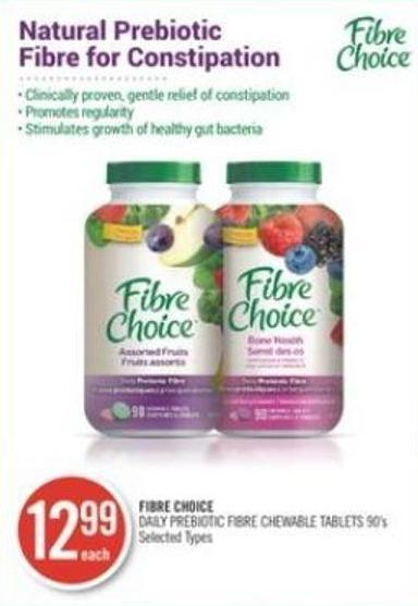Fibre Choice Daily Prebiotic Fibre Chewable Tablets