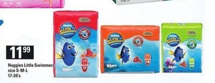 Huggies Little Swimmers - 17-20's