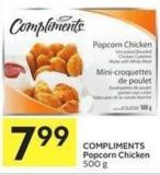 Compliments Popcorn Chicken 500 g