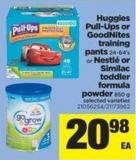 Huggies Pull-ups Or Goodnites Training Pants - 24-64's Or Nestlé Or Similac Toddler Formula Powder - 850 g