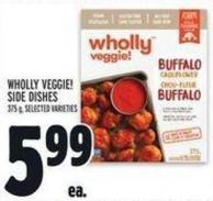 Wholly Veggie! Side Dishes 375 g