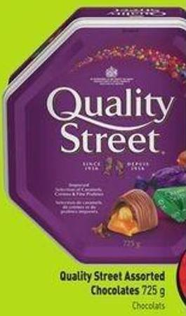 Quality Street Assorted Chocolates 725 g