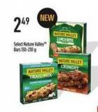 Select Nature Valleytm Bars 130-230 g