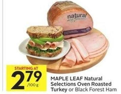 Maple Leaf Natural Selections Oven Roasted Turkey