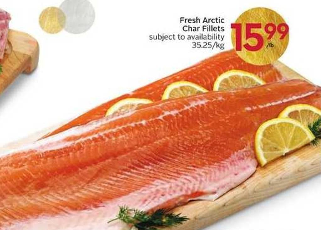 Fresh Arctic Char Fillets