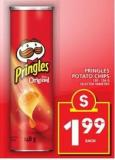 Pringles Potato Chips - 130-156 g