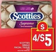 Scotties Single Facial Tissue