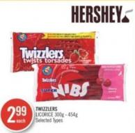 Twizzlers Licorice 300g - 454g
