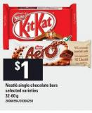 Nestlé Single Chocolate Bars - 32-60 G