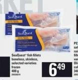 Seaquest Fish Fillets - 400 g