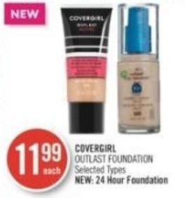 Covergirl Outlast Foundation
