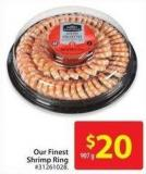 Our Finest Shrimp Ring 907 g