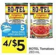 Rotel Tomatoes 283 mL - 5 Air Miles Bonus Miles