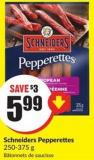 Schneiders Pepperettes 250-375 g