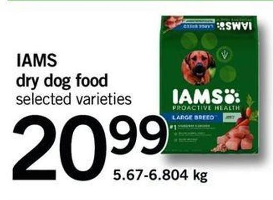 Iams Dry Dog Food - 5.67-6.804 Kg